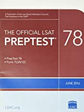 The Official LSAT PrepTest 78: (June 2016 LSAT)