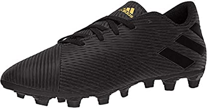 adidas mens Nemeziz 19.4 Flexible Ground Boots Soccer Shoe, Black/Black/Utility Black, 6.5 US