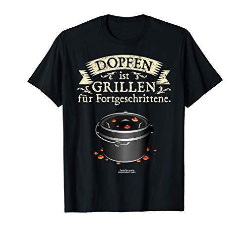 Dutch Oven Dopfen vs. Grillen | das Original Dutch Oven T-Shirt