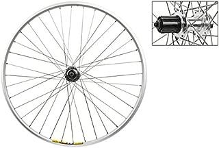 Wheel Master 700c Rear Wheel - Quick-Release, 36H, 8-Speed Cassette 6B Disc Hub, Silver/Silver/Steel