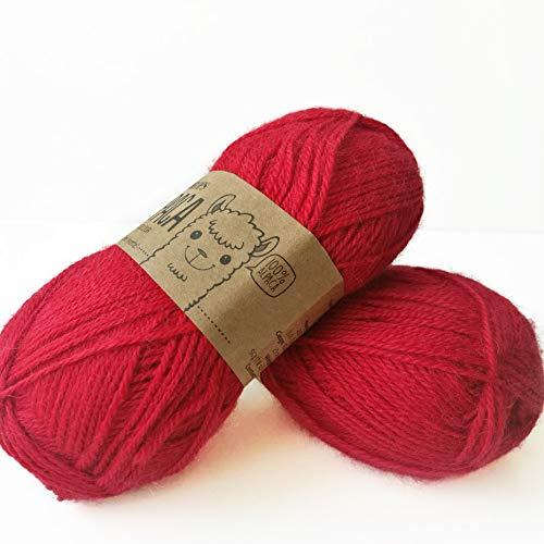 Alpaca – Mulitple colores Garnstudio DROPS Knitting 4ply 100% hilo de alpaca (3620 rojo)