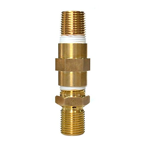 New onlyfire LP Air Mixture Valve for Liquid Propane Fire Pits, 100% Soild Brass