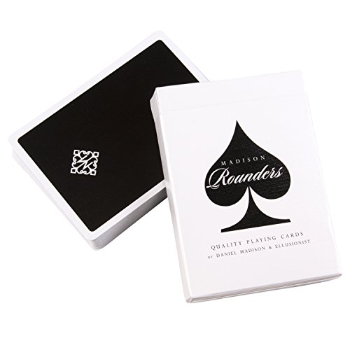 Ellusionist Madison Rounders Playing Cards, Black - by Daniel Madison