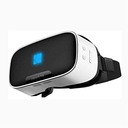 RVTYR VR Gafas de Auriculares, Virtual Reality Headset, VR 3D Gafas for Juegos móviles y Películas 360 Grados;Ángulo de visión Soporta Tarjetas TF Juego 110 Grados;FOV Gafas Multimedia