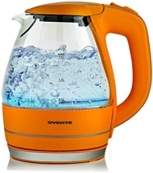Ovente Electric 1.5 Liter Hot Water Glass Kettle