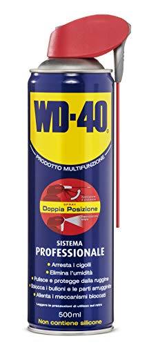 WD-40 33034, Lubrificante Spray multifunzionale, Blu, 500 ml