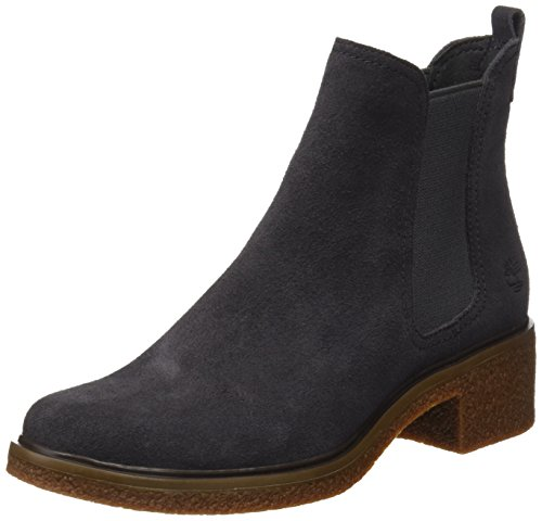 Timberland Damen Brinda Double Gore Chelsea Pull-On Chukka Boots, Grau (Forged Iron), 39 EU