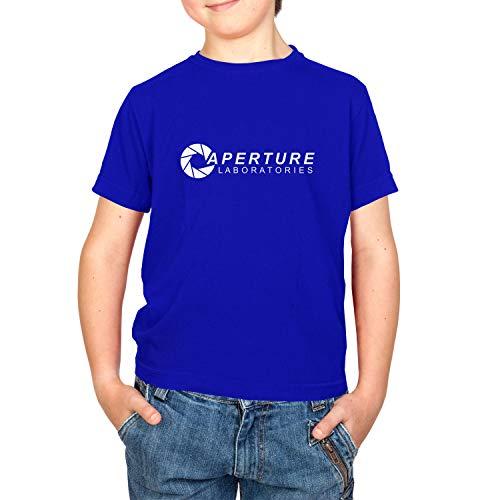 Nexxus Aperture Laboratories - Kinder T-Shirt, Größe XS, Marine