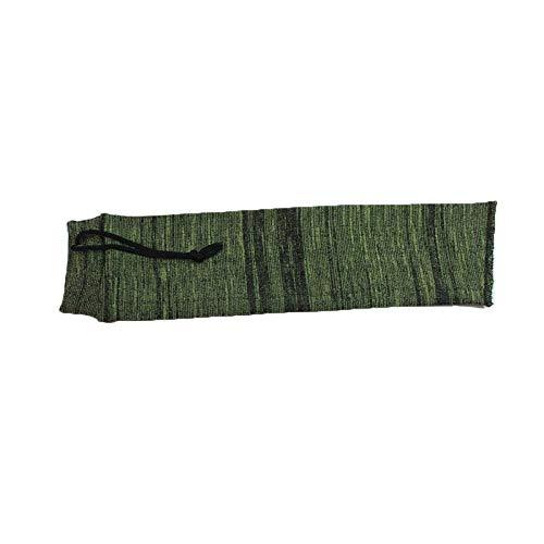 XBF-MICAI, Aceite de Silicona tratada Arma Corta Calcetines de Punto de poliéster Polvo Cubierta Protectora de la Bolsa de Almacenamiento Funda de 36 * 10 cm (Color : G)