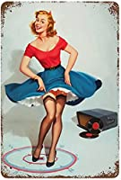 レトロおかしい金属錫サイン8 x 12インチ(20 * 30 cm) ブリキ看板警告通知パブクラブカフェホームレストラン壁の装飾アートサインポスター(sd-10-9)
