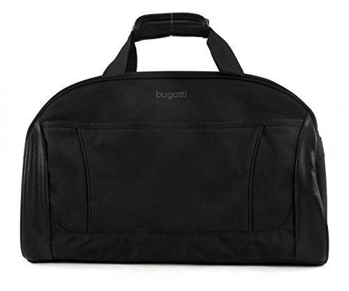 """Bugatti Travel bag \""""Cosmos\"""" in black Reisetasche, 50 cm, 43.2 liters, Schwarz (Black)"""