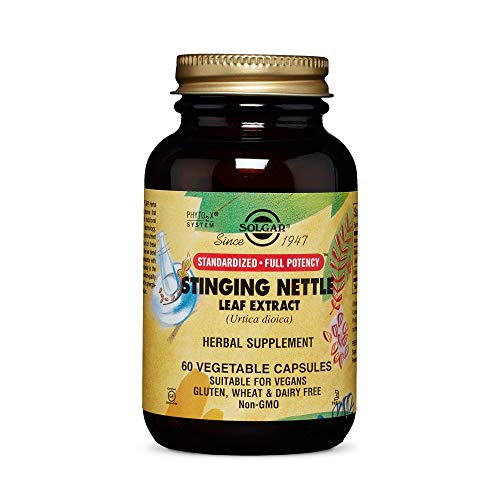 Solgar Nettle Leaf Extract Vegetable Capsules - Pack of 60
