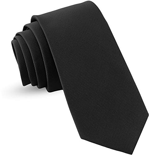 Luther Pike Seattle Handmade Ties For Men: Woven Tie Mens Ties: Standard & Thin Mens ties, Solid Color & Dots Neckties