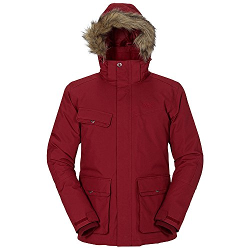 Jack Wolfskin Nova Scotia II Texapore Jacket Men, XL, Dried Tomato