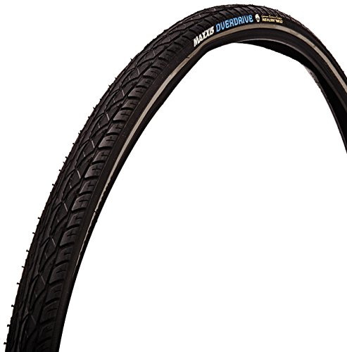 Maxxis Overdrive Hybrid Bike Tire (Wire Beaded 70a, 700x38)