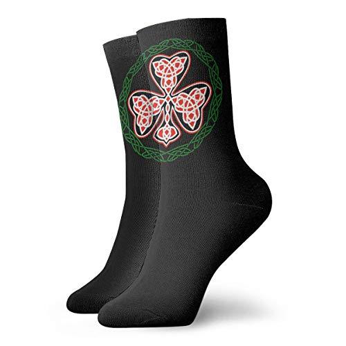 Celtic Cross Knot Irish Shield Men's/Womensathletic Socks,Short SocksShort Socks