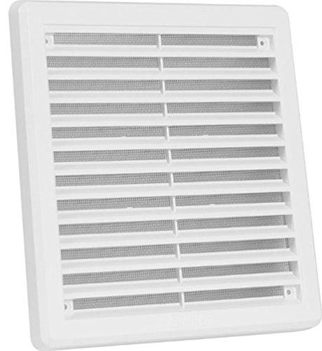 alta calidad del aire de modelo de ventilación cubrir 200 x 200mm blanco cobertura de ventilación, la