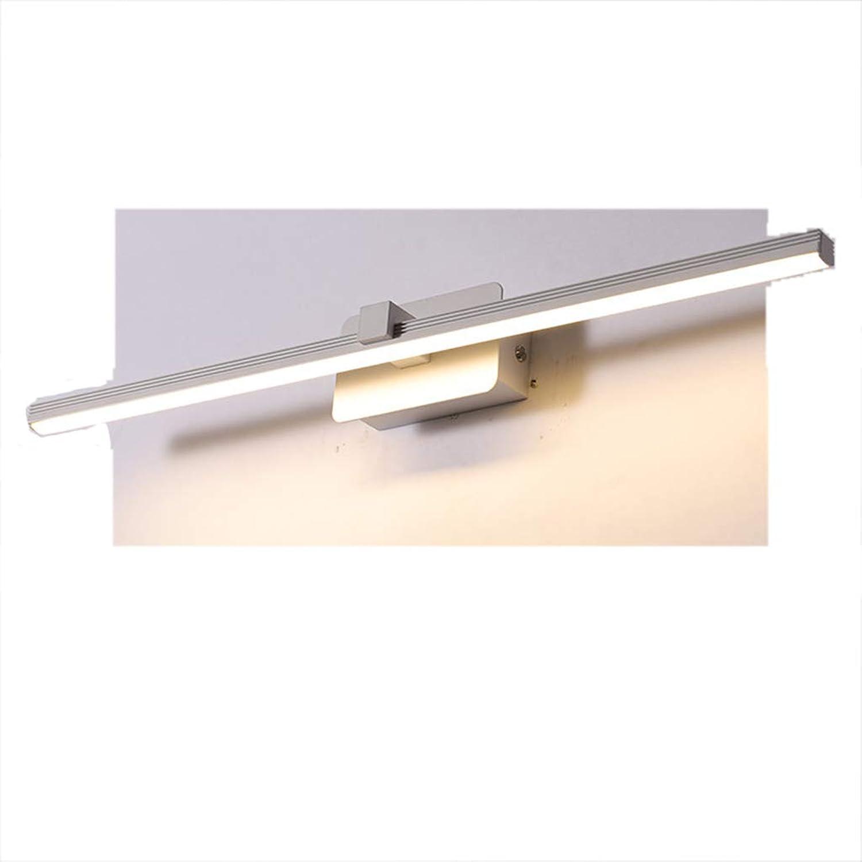 Bad Spiegelleuchten Spiegel Scheinwerfer Moderne Minimalistische Mode Kreative Nordic Badezimmerspiegelschrank Wandleuchte [Energieklasse A +] (Farbe   B-800 16W)