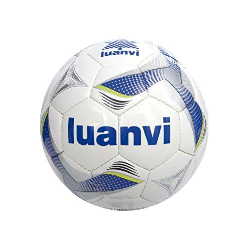 Luanvi Balón Cup T4, Unisex, Multicolor (Royal/Pistacho), 4