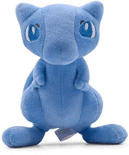 Anime brillante Mew peluche juguetes de peluche 18 cm de dibujos animados muñecos chuangze