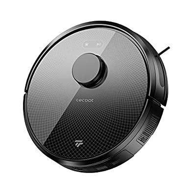 TECBOT Robot Vacuum Cleaner with Lidar Navigation, 3000Pa Strong Suction Power, Wi-Fi Connection, Works with Alexa, Very Suitable for Pet Hair, Hard Floors and Carpets, Ideal for Household Cleaning