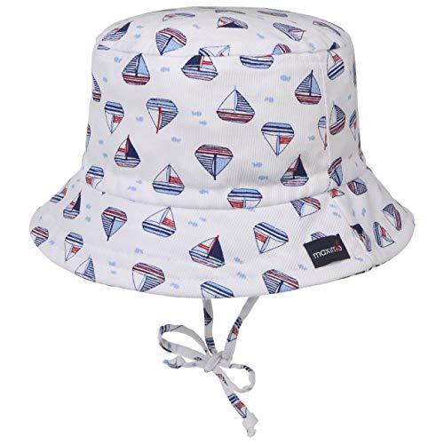 maximo Chapeau de Soleil voiliers Chapeau bébé, Blanc/Bleu