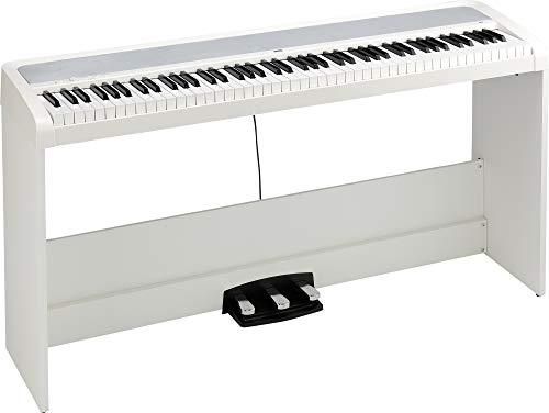 KORG B2 SP weiss, Digitalpiano, E-Piano inkl. Ständer und 3er Pedaleinheit