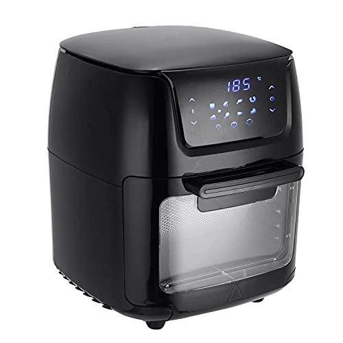 Goodvk Friggitrice ad Aria Air Fryer Forno Elettrico Touch Digital Airfryer ROTASSERIE Dare BIGHT BOOCK 12L Comodo Controllo (Colore : Type A, Size : 12L)