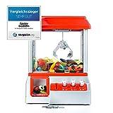 Gadgy ® Candy Grabber avec Bouton de Muet | Machine Attrape à Bonbons de Pince | Distributeur à Bonbons | Fete Foraine Anniversaire
