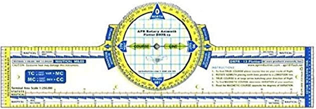 13 Deluxe Color Azimuth Compass Rose Navigation Plotter by APR