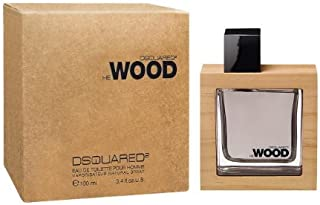 He Wood by Dsquared2 for Men - 3.4 oz EDT Spray