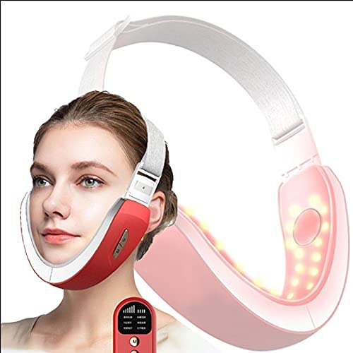 Damian-Sewing Intelligent Face Lifting Instrument Vibration Light Massage Breathable Electric V‑Face Machine for Anti Wrinkle Skin Tightening Eliminates Sagging Anti Aging