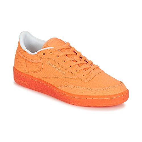 Reebok Classic Club C 85 Canvas Sneakers Donne Albicocca - 35 - Sneakers Basse