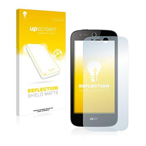 upscreen Entspiegelungs-Schutzfolie kompatibel mit Acer Liquid Z330 – Anti-Reflex Bildschirmschutz-Folie Matt