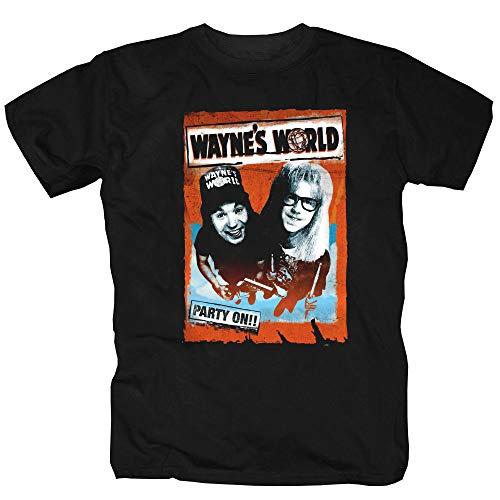 Wayne\'s World USA Comedy Filmklassiker T-Shirt Shirt (XL)