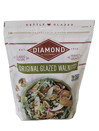 Diamond of California Diamond of California Original Glazed Walnuts, 6 Count, 6 Count (Pack of 1)