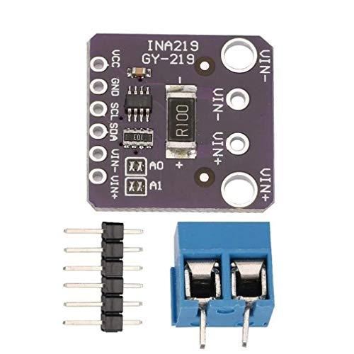 Yeliu 1 Stück Gy-Ina219 Hochpräzises digitales I2C-Stromsensormodul in Zwei Richtungen Lila