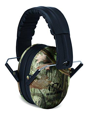 Walkers Game Ear hunting-earmuffs, Camo, One Size (GWP-FKDM-CMO)