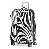 Reise-Koffer-Trolley-XL 76cm-Hartschale-Erweiterbar Zebra-Pferd-Claymore-Bowatex