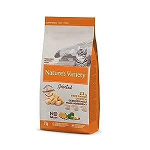 Nature's Variety Selected - Pienso para gatos esterilizados con pollo campero deshuesado 7 Kg
