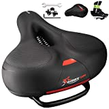Giddy Up! Comfortable Bike Seat Replacement - Wide Bike...
