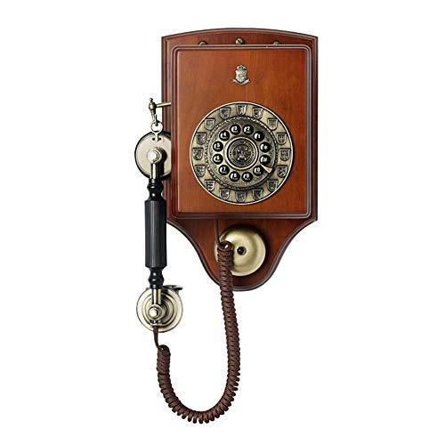 JGG Retro-Wandtelefon im europäischen Stil,Vintage mit festnetz europäisches festnetztelefon Home büro antikes for und europäischen (Color : 1913)