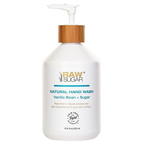 Raw Sugar Vanilla Bean Sugar Natural Hand Wash 16.9oz