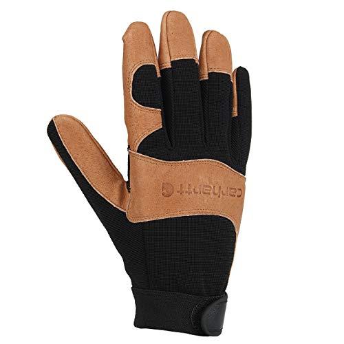 Carhartt Men's The Dex II High Dexterity Glove, Black Barley, Large