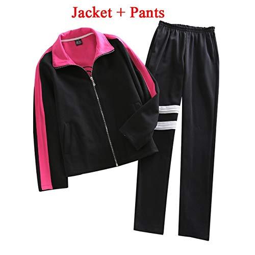 WSJDE Anime Naruto Uzumaki Boruto Cosplay Disfraz Conjunto Completo Boruto Uniforme (Chaqueta + Pantalones + Diadema + Bolsa) Disfraces de Halloween M Pantalones Jacker