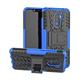 Xiaomi Pocophone F1 Case, CaseExpert Heavy Duty Shockproof Rugged Impact Armor Hybrid Kickstand Protective Cover Case for Xiaomi Pocophone F1