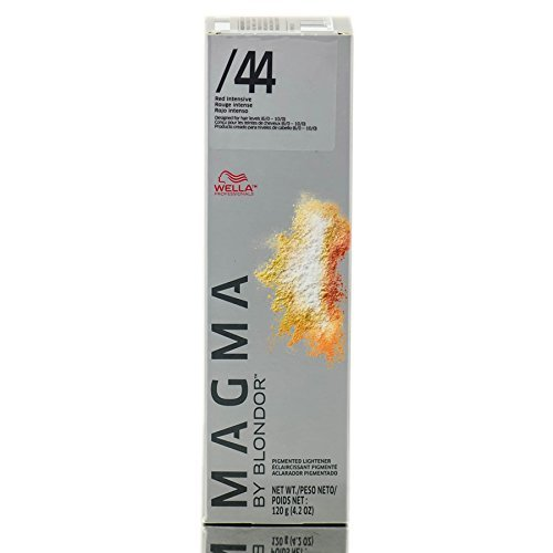 Wella Magma by Blondor Pigmentierter Aufheller, 44 Red Intensiv, 122 g von Wella