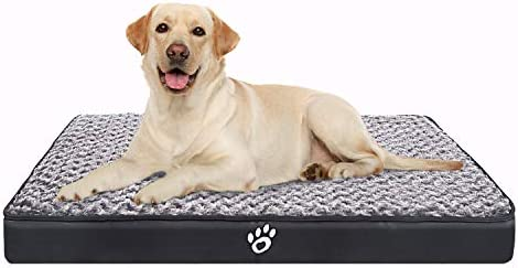 CLOUDZONE Orthopedic Dog Bed Pet Bed Mattress with Removable Zipper Covers Washable Dog Bed product image