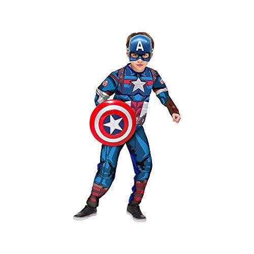 Regina 109013.5, Fantasia Avengers Capitão América Luxo 2, Multicor