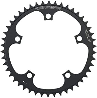 Zoagear Single Speed Chainring 130 BCD 46 Teeth Track Fixed Gear Bike Black
